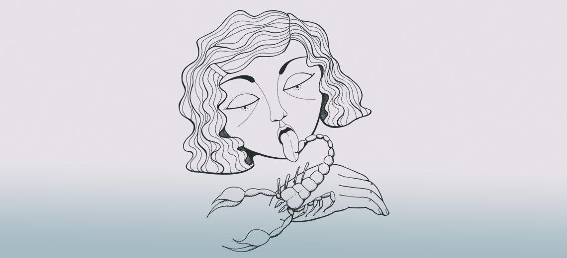 WIP : Inked Scorpio
